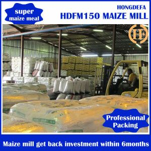 Mozambique 30tpd Maize Milling Machines Running pictures & photos