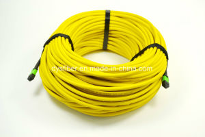 Data Center MPO Connector Elite 12 Strand Patchcord, Sm Il Less 0.35dB pictures & photos