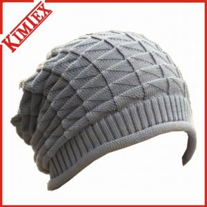 Fashion Heavy Acrylic Jacquard Cable Beanie Toques pictures & photos