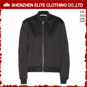 Waterproof Embroidered Nylon Flight Bomber Jacket Men (ELTBQJ-524) pictures & photos