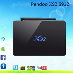 Android TV Set Top Box 4k Amlogic S912 Smart Kodi pictures & photos