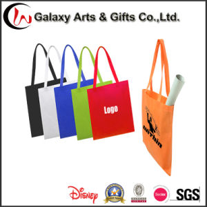 New Non Woven Fabric Custom Logo Print Promotional Shopping U Cut Non Woven Grocery Bag pictures & photos