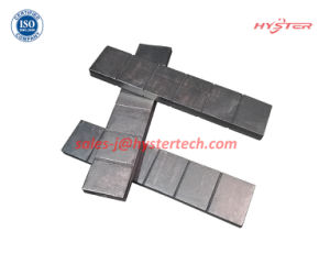 63HRC/700bhn High Chromium White Iron Wafer Strips for Excavator Bucket Abrasion pictures & photos