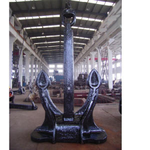Marine Casting Iron CB 711-95 Speck Anchor with Certificate pictures & photos