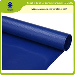 Fluorescent Orange Protective PVC Coated Polyester Mesh Fabric pictures & photos