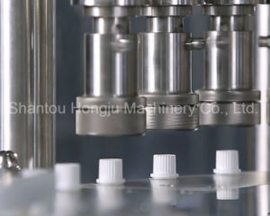 50g Gram Cosmetic Cream Filling and Capping Machine for Side Spout Stand up Pouch pictures & photos