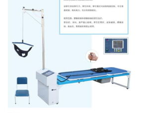 4D Computer Control Lumbar and Cervical Traction Bed pictures & photos