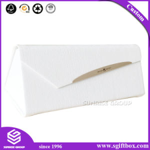 Triangle Magnetic Closure Cardboard Storage Eyeglasses Gift Box pictures & photos