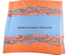Fashion Printed Acrylic Shawl for Ladies (ABF22004020) pictures & photos