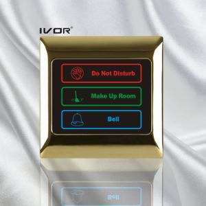 Hotel Doorbell System Touch Panel in Metal Outline Frame (SK-dB2000SYS) pictures & photos