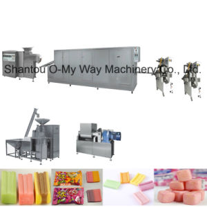 Bubble Gum Candy Cut Pillow Type Packing Machine pictures & photos