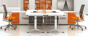 Aluminium Partition Office Screen Cubicle Office Partition Melamine Workstation pictures & photos