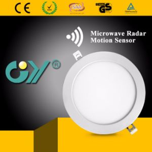 Indoor 18W Microwave Radar Motion Sensor LED Downlight pictures & photos