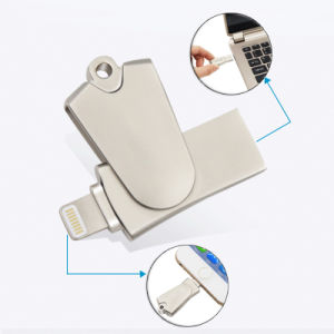 Metal Swivel Microsd Card Reader for iPhone iPad iPod (YT-R005) pictures & photos