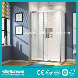 Popular Rectangle Shower Sliding House with Aluminium Alloy Frame (SE905C)