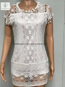 2017 European Lace Elegant Sleeveless Skirt Fashion Women Sexy Dress pictures & photos