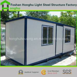 Flexible Smart Blue/White Prefabricated Container Home with High Quality pictures & photos