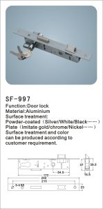 Aluminium Door Lock with Keys Hardware Fittings (SF-997) pictures & photos