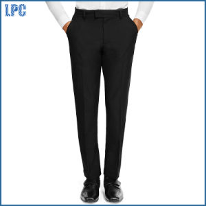 Senior Boys′ Slim Leg Trousers with Triple Action and Adjustable Waist pictures & photos