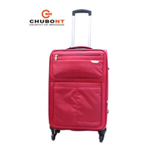2017 New Waterproof Nylon 4wheels Suitcase pictures & photos
