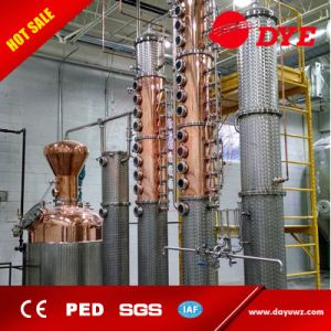 Stainless Steel Industrial Flute Alcohol Distillation Column Price pictures & photos