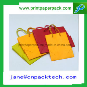 Recycles Gift Bag Handbags Carrier Paper Bags Kraft Paper Bag pictures & photos