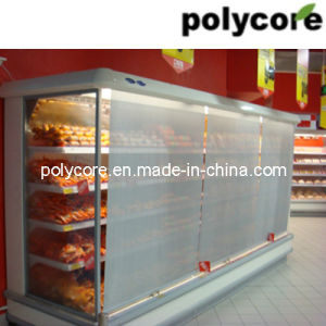 Commercial Refrigeration Horizontal Showcase Curtain pictures & photos