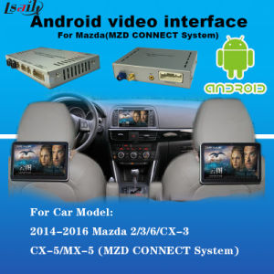 Built-in Mirrorlink Android Navigation Box + Video Interface for Mazda Cx-3, Cx-5, Cx-9, Mx-5 Support Facebook / Youtube pictures & photos