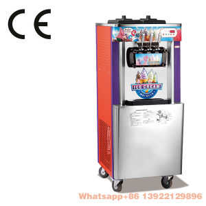 Manufacture Commercial Hot Sale Precooling Ice Cream Machine with Good Price pictures & photos