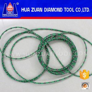 Green 9.0mm Endless Diamond Wire Saw for Granite pictures & photos