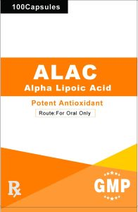 Thioctic Acid (Lipoic Acid) Capsule 400mg GMP Factory pictures & photos