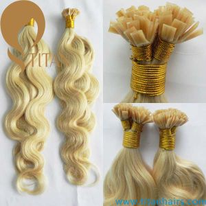 Piano Color 27#/613# Body Wave Remy Flat Tip Hair Extesnion pictures & photos
