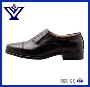 100% Genuine Leather Officer Shoes Police Shoes Casual Shoes (SYSG-424) pictures & photos