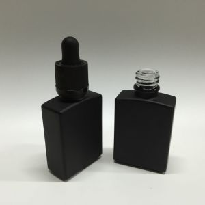 30 Ml 1 Oz Rectangular Vaping Glass Bottle