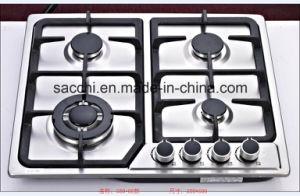 Sabaf Four Burner Stainless Steel Gas Hob