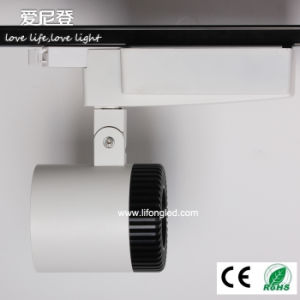Universal Track Spot System LED Track Light 30W COB LED Track Lighting pictures & photos