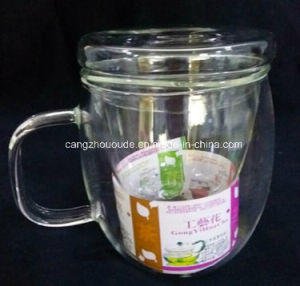 Hand Blowwn Glass Tea Cup with Good Price pictures & photos