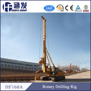 Hf168A Hydraulic Screw Bit Rotary Drilling Rig pictures & photos