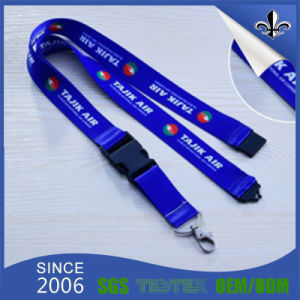 Promotion Gift Neck Strap Printed Lanyards with Badge Holder pictures & photos
