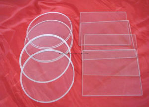 High Smoothness Flat Shape Float Borosilicate Glass for 3D Printer Heating Bed pictures & photos