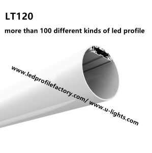 J120 LED Strip Light Round Shape Profile LED Aluminum Profile pictures & photos