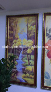 Customized Design Stainless Steel Oil Painting, Decorative in Bathroom pictures & photos