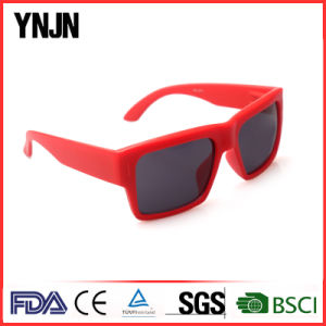 Promotional Women Square Red Color Sun Glasses (YJ-2017) pictures & photos