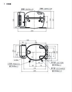 R134A 12V DC Compressor for DC Car Refrigerator and Freezer pictures & photos