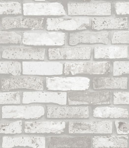 China Wallpaper Supplier, Cheap Price White Brick 3D Wall Paper pictures & photos