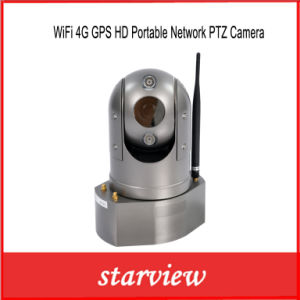 WiFi 4G GPS HD Portable Network PTZ Camera pictures & photos
