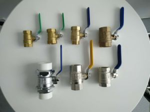 "En331 Approved 1/4""-4"" Female Brass Gas Ball Valve pictures & photos"