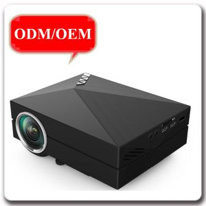 Factory Price Wireless LCD Portable Support Mobile Connections Home Theater Projector pictures & photos