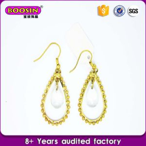 Pearl Female Earrings Simple Gold Earrings Design for Women pictures & photos
