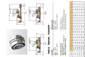 G13 Slurry Mechanical Seal for Slurry Pump pictures & photos